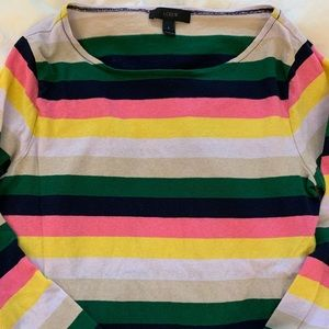 J Crew long sleeve T